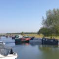 Boats in Port Meadow