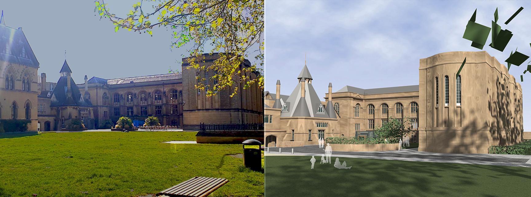 Images of the College Quad