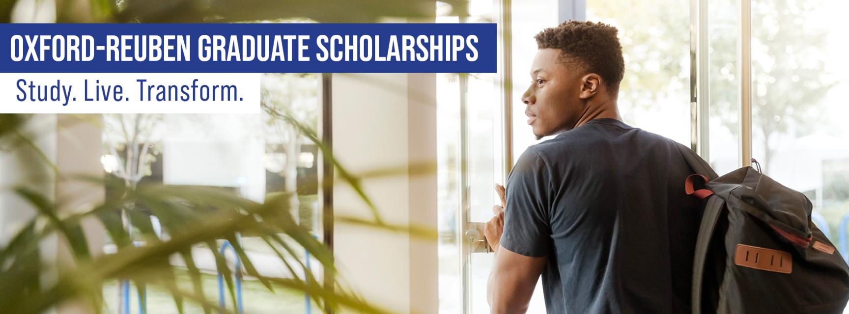 Oxford-Reuben Graduate Scholarships