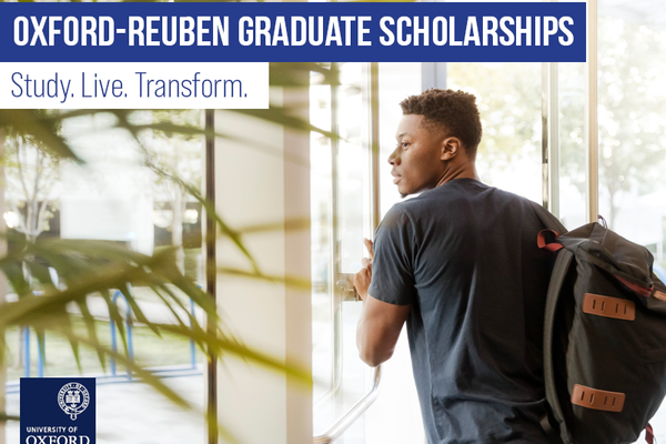 Oxford-Reuben Graduate Scholarships
